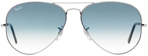 Ray-Ban Aviator Metal RB3025 003/3F (silver/light blue gradient)