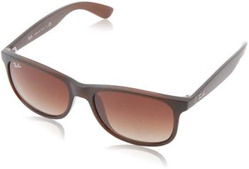 Ray-Ban Andy RB4202 607313 (matte brown/brown gradient)