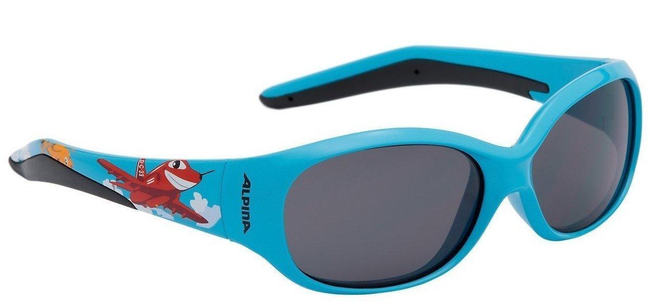 Alpina Kinder Fahrradbrille Sportbrille Sonnenbrille FLEXXY KIDS cyan plane lzweVT
