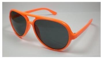 top-ten-sonnenbrille-piloten-design-unisex-modell-power-neon-orange-uv-400-damenherren