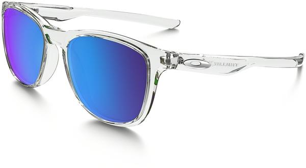 Oakley Trillbe X OO9340-05 (polished clear/sapphire iridium polarized)