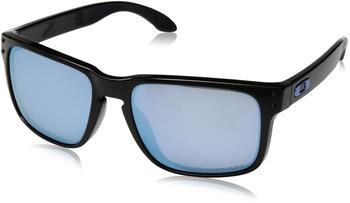 Oakley Holbrook OO9102-C1 (polished black/prizm deep water polarized)