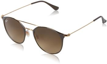 Ray-Ban RB3546 9009/85 (gold top brown/brown gradient)