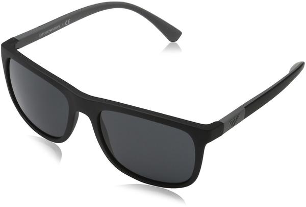 Emporio Armani EA4079 5042/87 (matte black/grey)