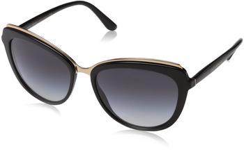 Dolce & Gabbana DG4304 501/8G (black/grey gradient)