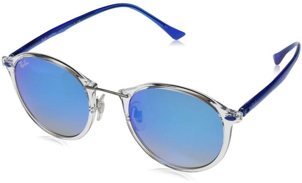Ray-Ban RB4242 6290B8 (transparent-brown/silver gradient flash)