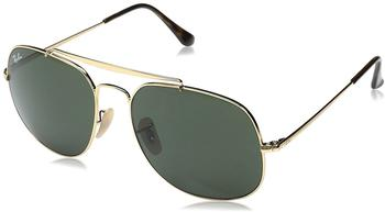 Ray-Ban General RB3561 001 (gold/green classic G-15)