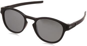 oakley-latch-oo9265-27-schwarz-kunststoff-plutonite-panto-rund-damen-herren-sonnenbrille-in-53-21-klein