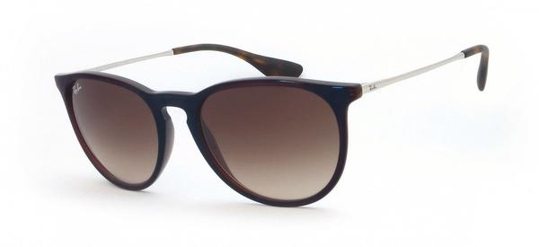 Ray-Ban Erika RB4171 631513 (brown-silver/brown gradient)