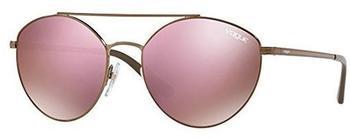 vogue-eyewear-vogue-vo4023s-50675r-bronze-pink-metall-kunststoff-oval-damen-sonnenbrille-in-56-18-mittelgross