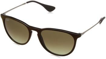 Ray-Ban Erika RB4171 6316E8 (black-silver/brown gradient)