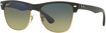 Ray-Ban Oversized Clubmaster RB4175 877/76 (black/blue green gradient polarized)