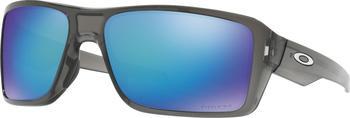 Oakley Double Edge OO9380-0666 (grey smoke/prizm sapphire polarized)