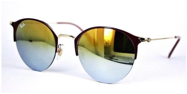 Ray-Ban RB3578 9011A7 (light brown/green gradient mirror)