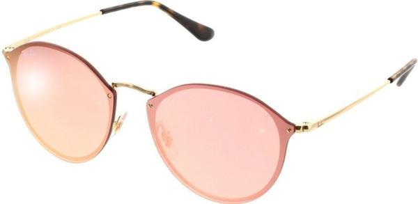 Ray-Ban Blaze Round RB3574N 001/E4 (gold/pink mirror)