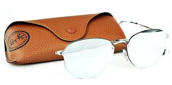 Ray-Ban Blaze Hexagonal RB3579N 003/30 (silver/green-silver mirror)