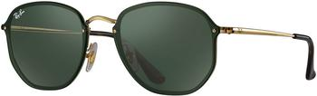 Ray-Ban Blaze Hexagonal RB3579N 001/71 (gold/green classic)