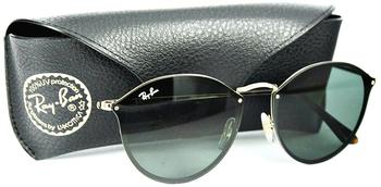 Ray-Ban Blaze Round RB3574N 001/71 (gold/green classic)