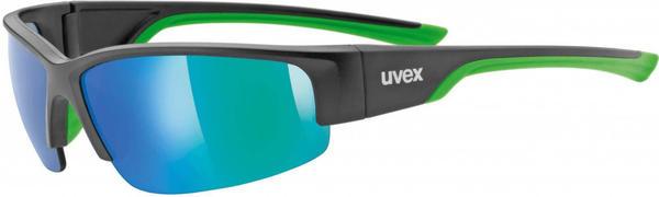 Uvex Sportstyle 215 (black mat green)