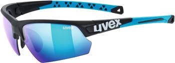 Uvex Sportstyle 224 black mat blue