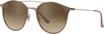 Ray-Ban RB3546 907151 (light brown-bronze copper/light brown gradient)