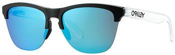 oakley-frogskins-lite-oo9374-0263-matte-black-matte-clear-prizm-sapphire