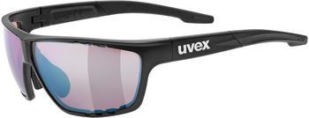 Uvex Sportstyle 706 Colorvision black mat/litemirror outdoor