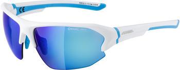 Alpina Lyron HR A8632.3.10 (white matt-cyan/mirror blue)