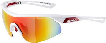 Alpina Nylos Shield A8634.3.10 (white-red/mirror red)