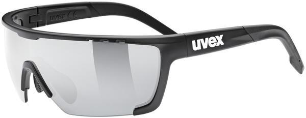 Uvex Sportstyle 707 CV black mat/litemirror silver