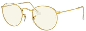 Ray-Ban Round Blue-light Clear Evolve RB3447 9196BL