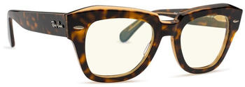 Ray-Ban State Street Blue-Light Clear RB2186 1292BL