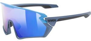 Uvex Sportstyle 231 blue grey mat/mirror blue