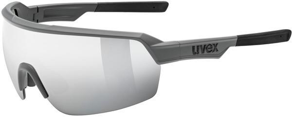 Uvex Sportstyle 227 grey mat/mirror silver