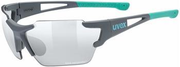 Uvex Sportstyle 803 Race V Small grey mat mint/litemirror silver