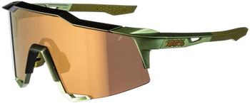 100% Speedcraft Tall matte metallic viperidae/bronze multilayer mirror + clear