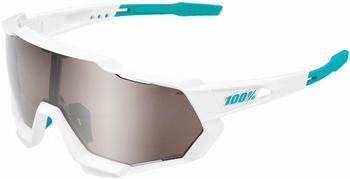100% Speedtrap SE BORA - hansgrohe Team white/HiPER silver mirror + clear