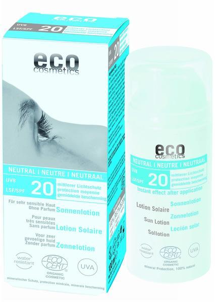 Eco Cosmetics Sonnenlotion Neutral LSF 20 (100 ml)