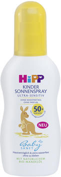 Hipp Babysanft Kinder Sonnenspray Ultra-Sensitiv LSF 50+ (150ml)