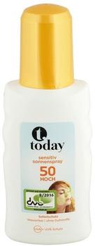 Today Sensitiv Sonnenspray 50