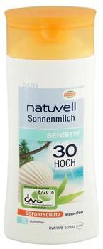 Natuvell Sonnenmilch Sensitiv 30