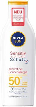 Nivea Sun Sensitiv Sofortschutz Sonnenlotion Sonnenallergie LSF 50+ (200 ml)