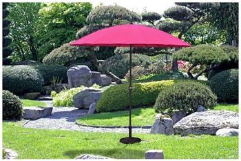 Garden Pleasure Sonnenschirm Ø 255 cm pink
