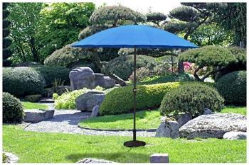 Garden Pleasure Sonnenschirm Ø 255 cm blau