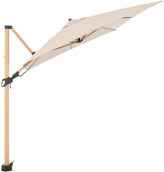 Doppler Alu-Wood Ax 300 x 220 cm Alu/Holzoptik (451261820)