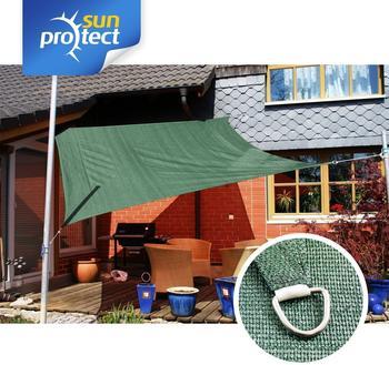 Sunprotect Quadrat 3 x 3 m grün