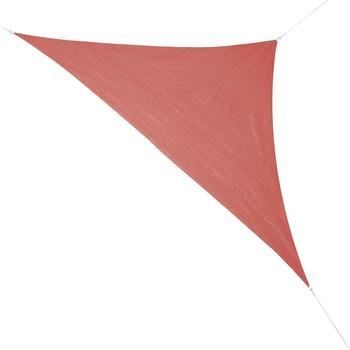 Corasol Premium 3,6 x 3,6 x 5 m Dreieck rostrot