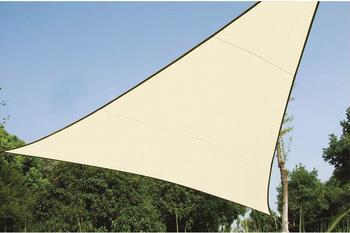 Perel Dreieck 5 x 5 x 5 m creme
