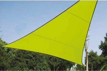Perel Dreieck 5 x 5 x 5 m lime grün