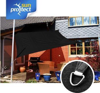 Sunprotect Quadrat 3 x 3 m schwarz